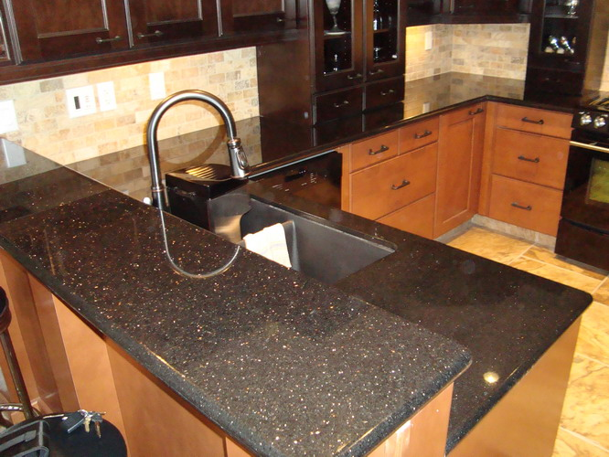 Black Galaxy Kitchen